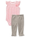 Carter's Baby Set, Baby Girls Stripe Bodysuit and