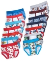 Kids Underwear, Little Boys Toddler 7 Pack Cars or