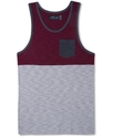 T-Shirt, Colorblock Tank Top