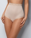 Brief, Plus Size Secret Hug Nylon Full Brief 873