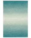 Liora Manne Area Rug, Ombre 9663/04 Horizon Aqua 2