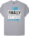 Big &amp; Tall Shirt, Finally Famous Graphic T Shirt