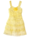 Kids Dress, Little Girls Tiered Glitter Dress