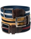 Levi&#39;s Belts, Fabric Striped Belt