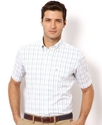 Shirt, Wrinkle Resistant Check Poplin Short Sleeve