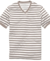 Shirt, Stripe V Neck Every Day Value T Shirt