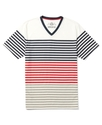 Shirt, EDV Multi Color Stripe T Shirt