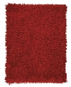 Area Rug, Silky Shag Crimson 5&#39; x 8&#39;