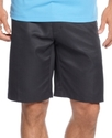 Golf Shorts, Performance Plaid Flat Front