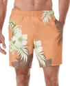 Swimwear, Floral Print Swim Shorts