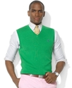 Polo Ralph Lauren Vest, Pima Cotton V-Neck Vest