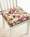 Table Linens, Rose Kiss Seat Cushion