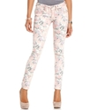 Jeans, Skinny Floral-Print