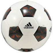 11Pro Glider Soccer Ball - White/Black/Warning