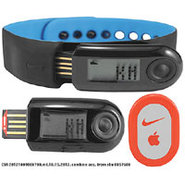+ Sportband 2 - Black/Blue Glow