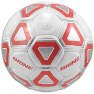 Attack Soccer Ball - White/Scarlet