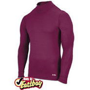 EVAPOR Compression Mock - Mens - Cardinal