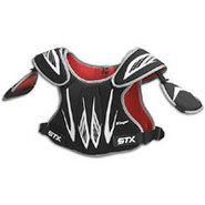 Stinger Lacrosse Shoulder Pad - Mens - Black