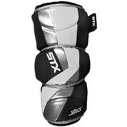 Jolt Lacrosse Arm Pad - Mens - White
