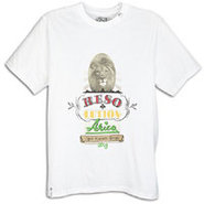Resolutionaries Lion S/S T-Shirt - Mens - White