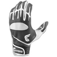 Pro Batting Gloves - Mens - Black/White