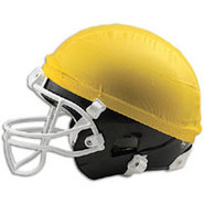 Football Helmet Scrimage Cap - Mens - Gold