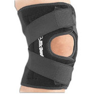 Multi Action Deluxe Knee Wrap - Black