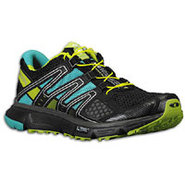 XR Mission - Womens - Black/Morea Blue/Pop Green