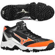 9-Spike Blast 3 Mid - Mens - Black/Orange