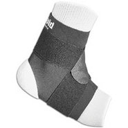 Ankle Support with Strap - Black
