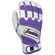 Natural II Batting Gloves - Mens - Pearl/Purple