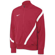 Comp 12 US Poly Jacket - Mens - Cardinal/White/Whi