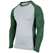 EVAPOR Baseball Compression Top - Mens - Grey/Fore