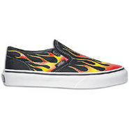 Classic Slip On - Boys Preschool - Black/Red