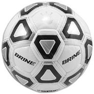 Attack Soccer Ball - White/Black