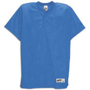 Two-Button Mesh Baseball Jersey - Mens - Royal