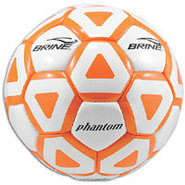 Phantom Soccer Ball - White/Orange