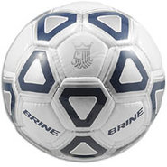 Attack Soccer Ball - White/Navy