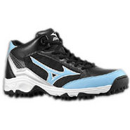 9-Spike Blast 3 Mid - Mens - Black/Carolina Blue