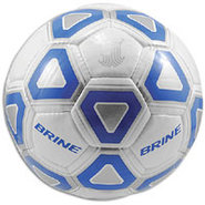 Attack Soccer Ball - White/Royal