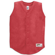 Sleeveless Mesh Jersey - Mens - Scarlet