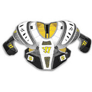 Adrenaline X1 Hiteman Shoulder Pads - Mens - White