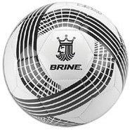 King 250 Soccer Ball - White/Black