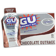 GU Energy Gel 8 Pack - Chocolate Outrage