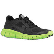 Free Run 3 - Boys Grade School - Black/Electric Gr