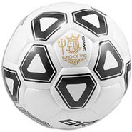Trident Soccer Ball - White/Black