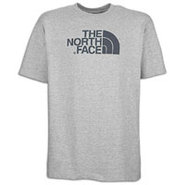 Half Dome S/S T-Shirt - Mens - Heather Grey/Conque