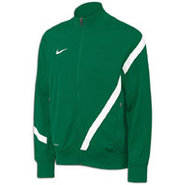 Comp 12 US Poly Jacket - Mens - Dark Green/White/W