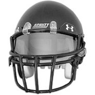 Football Visor - Mens - Grey Mirror