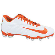 Vapor Pro Low TD Lacrosse - Mens - White/Team Oran